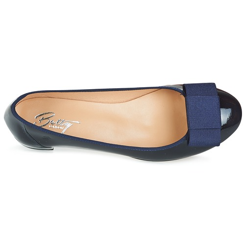 London BallerinesBabies Femme Betty Marine Hony sdhtCrQ