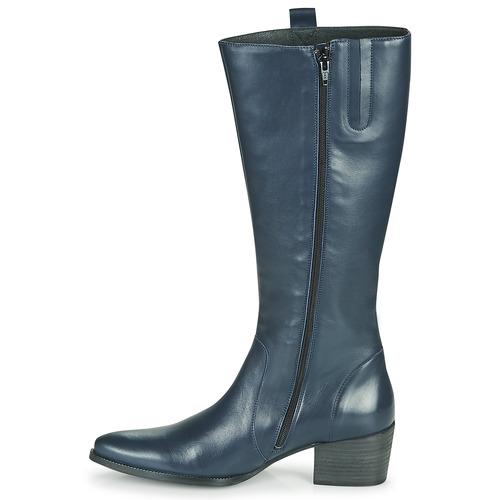Femme Ville Betty Chaussures Bleu London Bottes Herine L5jq4ARc3