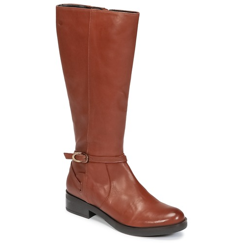 Chaussures Femme Bottes ville Betty London HIVANE Camel