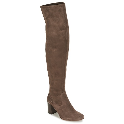 Chaussures Femme Cuissardes Betty London HERMA Taupe