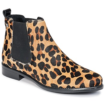 Chaussures Femme Boots Betty London HUGUETTE Léopard