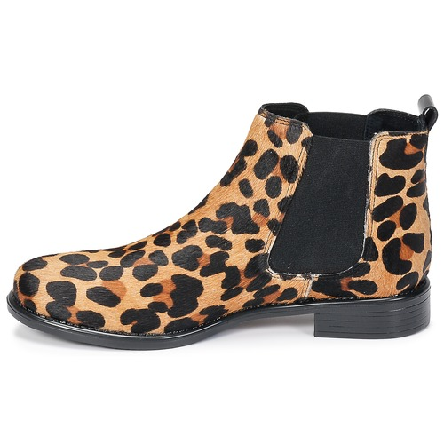 London Huguette Léopard Boots Femme Betty UVpMSqz