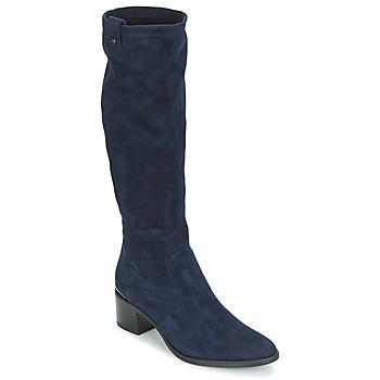 Chaussures Femme Bottes ville JB Martin ENCRE Marine