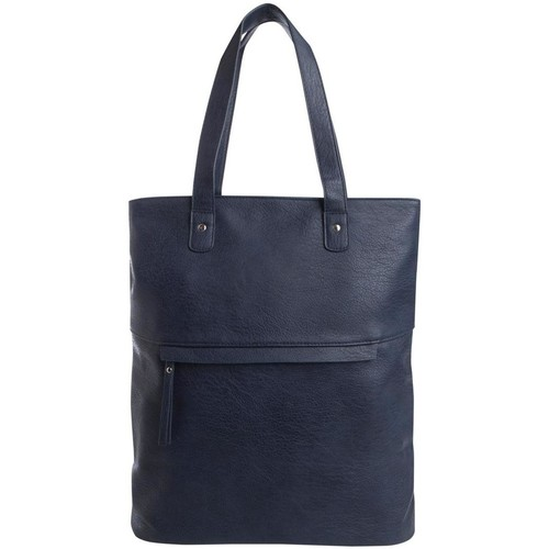 Sacs Femme Cabas / Sacs shopping Pieces PCMALLIE SHOPPER Bleu