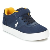 Chaussures Enfant Baskets basses Polo Ralph Lauren HANFORD HM EZ Marine