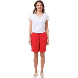 Vêtements Femme Shorts / Bermudas Best Mountain Short uni avec revers Rose rouge