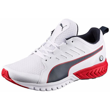 Chaussures Homme Baskets basses Puma BMW MS Pitlane Ignite Dual Puma White / Team Blue