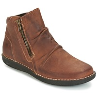 Chaussures Femme Boots Casual Attitude HERMINA Marron