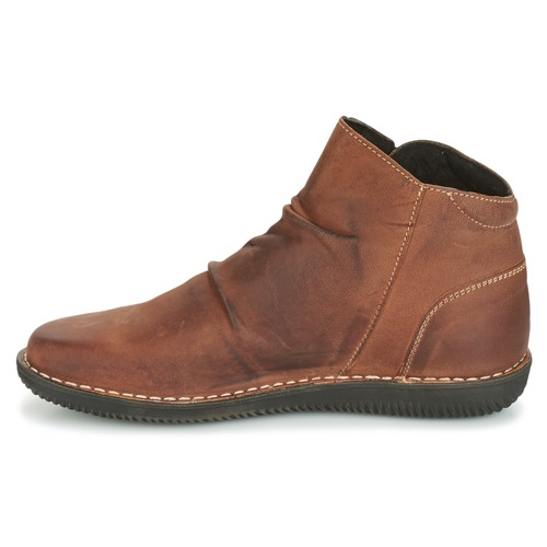 Hermina Femme Marron Chaussures Boots Attitude Casual v80PymnwNO