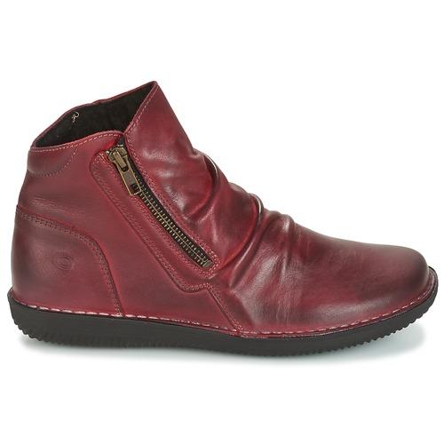 Casual Bordeaux Attitude Boots Femme Hermina vNm08nw
