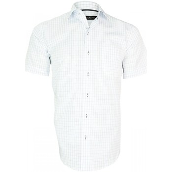 Vêtements Homme Chemises manches courtes Emporio Balzani chemisette sport riviera blanc Blanc