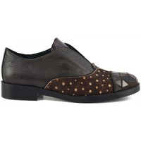 Chaussures Femme Derbies Café Noir Derbies Marron