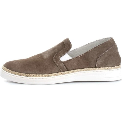 Kebo 6483 Mocassins Homme Taupe Taupe - Chaussures Slips on Homme