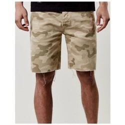 Vêtements Homme Shorts / Bermudas Cayler & Sons Short Denim  Black Label Raw Edge Denim Beige Camouflage Camouflage