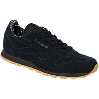 Chaussures Enfant Baskets basses Reebok Sport Classic Leather Tdc Noir
