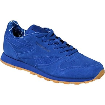 Chaussures Enfant Baskets basses Reebok Sport Classic Leather Tdc Bleu