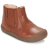 Chaussures Enfant Boots Start Rite FIRST CHELSEA Marron