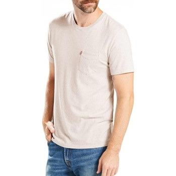 Vêtements Homme T-shirts manches courtes Levi's T-Shirt  Sunset Pocket Lunar Rock Tri-Blend Beige