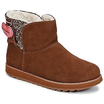 Chaussures Femme Boots Skechers KEEPSAKES Marron