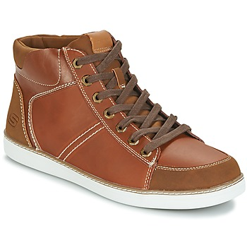 Chaussures Homme Baskets montantes Skechers MENS USA Camel