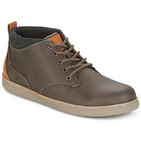 Chaussures Homme Baskets montantes Skechers MENS USA Marron