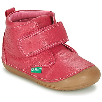 Chaussures Fille Boots Kickers SABIO Fuchsia