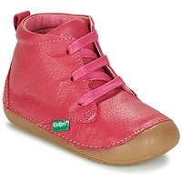 Chaussures Fille Boots Kickers SONICE Fuchsia