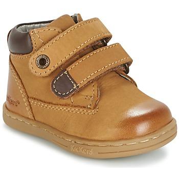 Chaussures Garçon Boots Kickers TACKEASY Camel