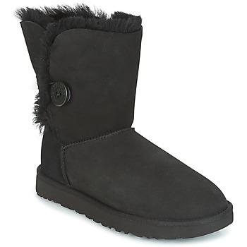Chaussures Femme Boots UGG BAILEY BUTTON II Noir