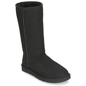 Chaussures Femme Bottes ville UGG CLASSIC TALL II Noir