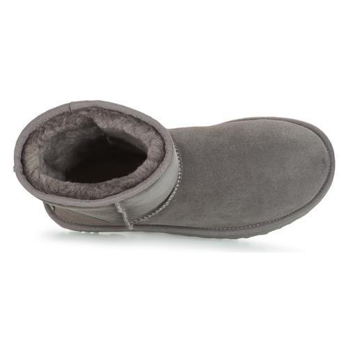Boots Ugg Gris Short Classic Femme Ii 8vmNw0n