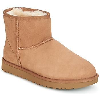 3bc96f6f4c39 Chaussures Femme Boots UGG CLASSIC MINI II Camel