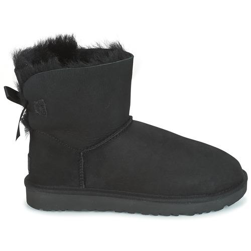 Boots Mini Bow Ugg Noir Ii Femme Bailey QdtChsrx