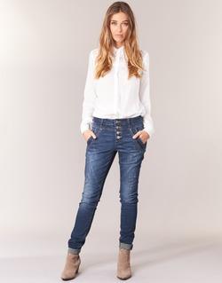 Vêtements Femme Jeans droit Cream NYNNE JEANS BAILEY FIT Bleu