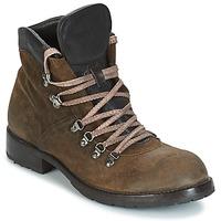 Chaussures Homme Boots Moma MARTENS CORDA/ COSNA TESTA DI MORO Kaki / Marron