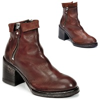 Chaussures Femme Bottines Moma CUSNA COPPER Marron