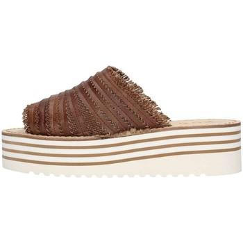 Chaussures Femme Sandales et Nu-pieds Zoe Cu50/08 Nu-Pieds Femme Brun foncé Brun foncé
