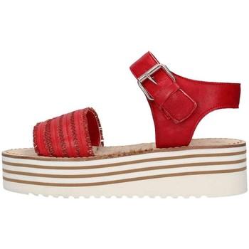 Chaussures Femme Sandales et Nu-pieds Zoe Cu50/07 Sandale Femme rouge rouge