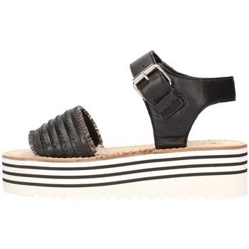 Chaussures Femme Sandales et Nu-pieds Zoe Cu50/07 Sandale Femme noir noir