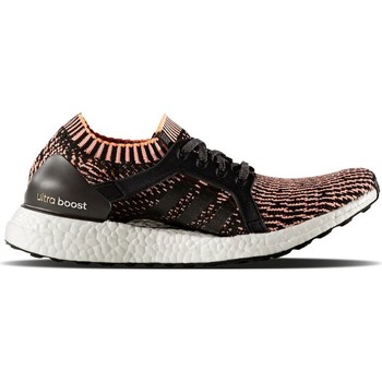Chaussures Femme Running / trail adidas Originals Ultraboost X Noir-Orange-Blanc