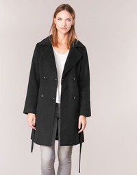 Vêtements Femme Manteaux Casual Attitude HALLOA Noir