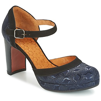 Chaussures Femme Escarpins Chie Mihara TISA Bleu métalisé