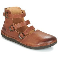 Chaussures Femme Ballerines / babies Kickers HONORINE Camel