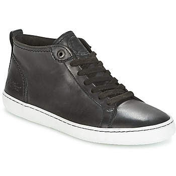Chaussures Femme Baskets basses Kickers REVIEW Noir