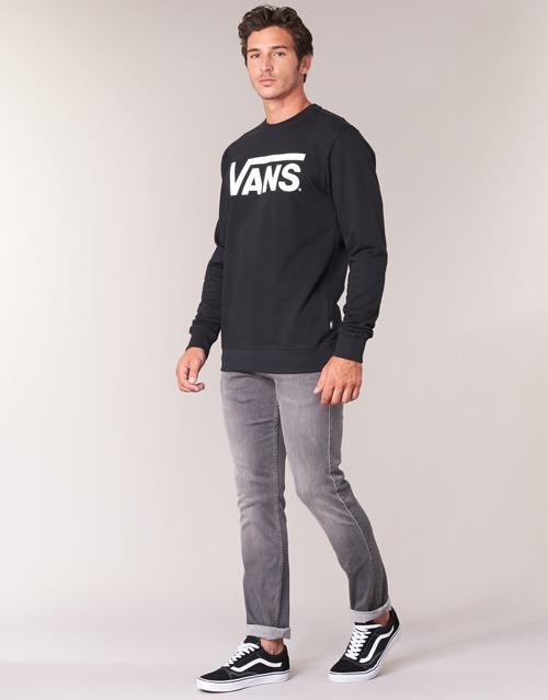 Homme Vans Noir Crew Classic Sweats lFcK1T3uJ
