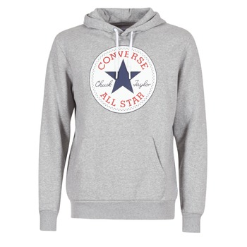 Vêtements Homme Sweats Converse CORE GRAPHIC PULLOVER HOODIE Gris