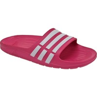 Chaussures Enfant Mules adidas Originals Duramo Slide K G06797 Rose
