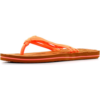 Chaussures Femme Tongs O'neill Strap Disty Flip Fluoro Peach