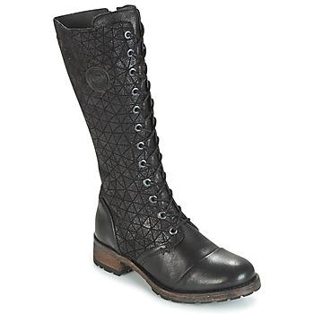 Chaussures Femme Bottes ville Pataugas DOLCE Noir