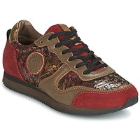 Chaussures Femme Baskets basses Pataugas IDOL Rouge / Marron